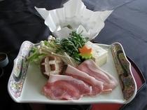 【台物の例】庄内豚しゃぶしゃぶ