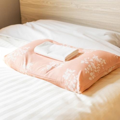 もちもちの枕で安眠へ♪