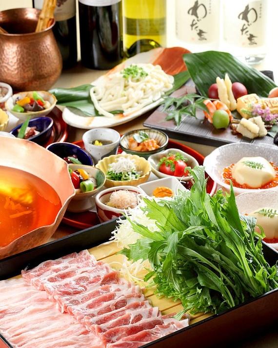 【お菜屋 わだ家】甘めの関西風のお出汁でいただく豚肉は絶品です。