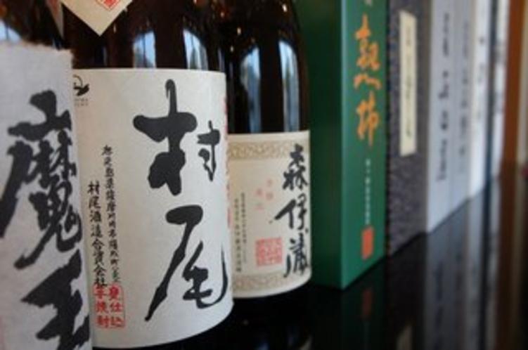 【福鮨】プレミアの日本酒や焼酎もご用意しております。詳しくはスタッフまでお尋ねください。