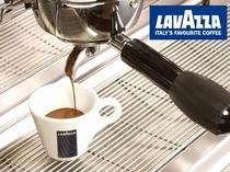 【La Porta -trattoria e bar-】イタリアではメジャーなラバッツァのコーヒー。