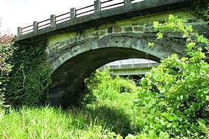 豊岡の眼鏡橋
