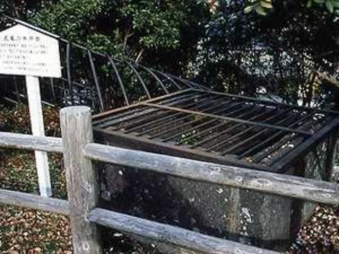 武蔵使用の井戸