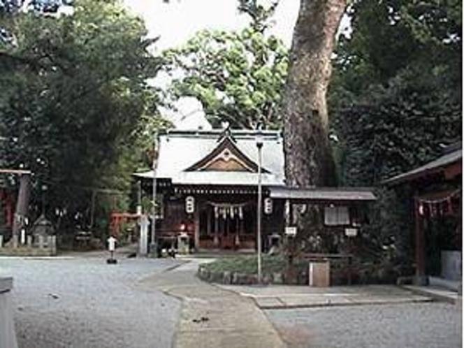 立田阿蘇三ノ宮神社