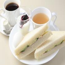 2階ルノアール軽朝食 サンドウィッチ(イメージ)