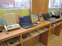 PC・プリンターは全て無料でご利用できます。