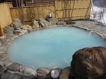 惠の湯貸切露天風呂