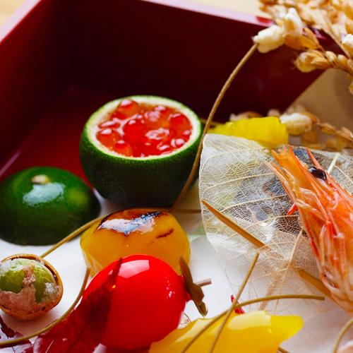 懐石料理-秋(料理イメージ写真)