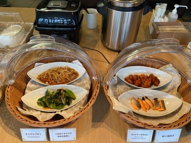 【朝食】日替わり主菜&副菜