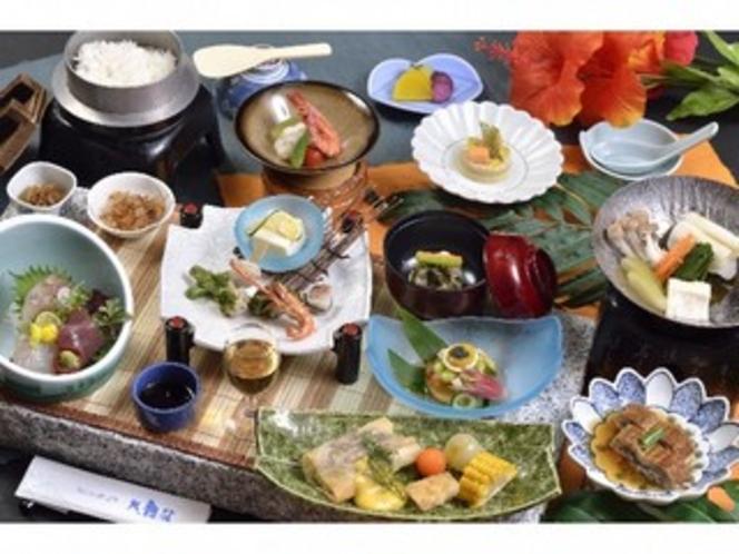 夏 渦潮会席 料理イメージ