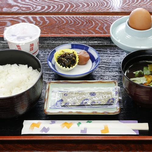 納豆卵付き和朝食/例