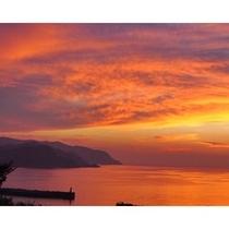 今子浦の夕陽色