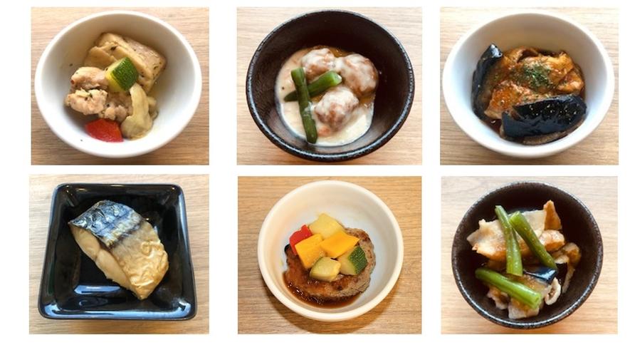 様々な小鉢料理