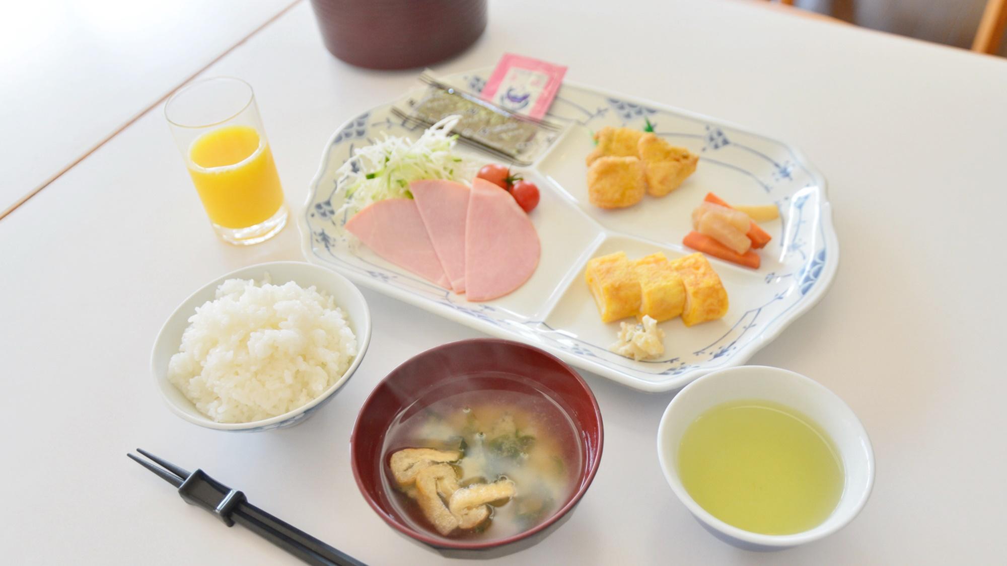 *朝食一例/朝一番も魚沼産コシヒカリでどうぞ!