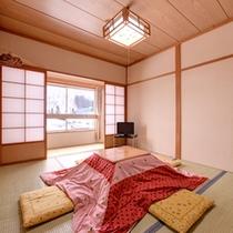 *和室6畳(客室一例)/畳の香りがほのかに薫るお部屋でのんびりとお寛ぎ下さい。