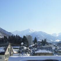 *周辺の風景<冬:上越国際>