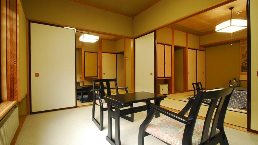 *新館和室(8+6畳)