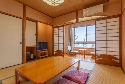◆和室8畳【禁煙・バスなしトイレ付】オーシャンビュー