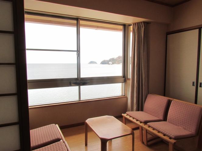 和室8畳【バス・トイレ付】 室内からの眺め