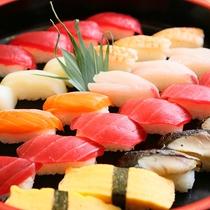 新鮮な握り寿司