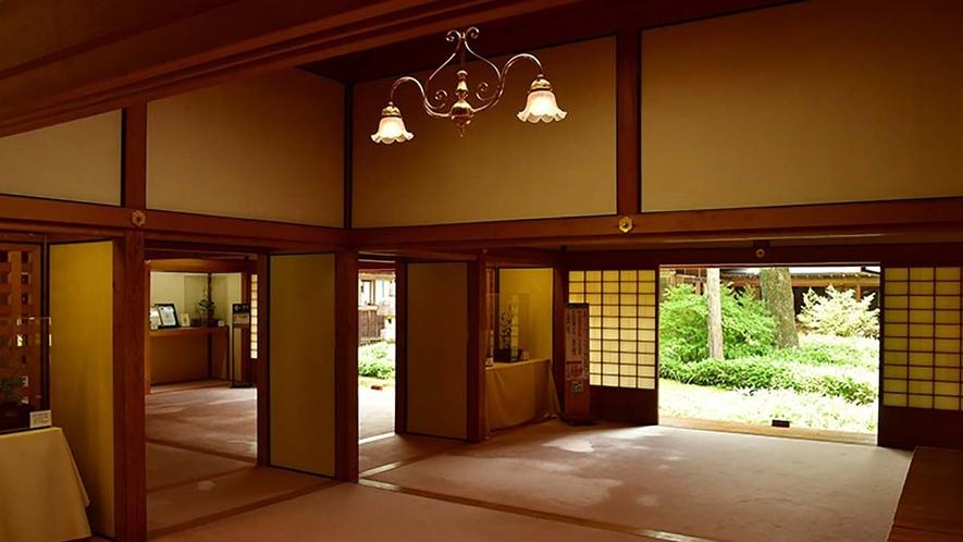 田母沢御用邸/ホテルから車で約10分