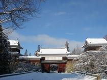 上田城(冬)