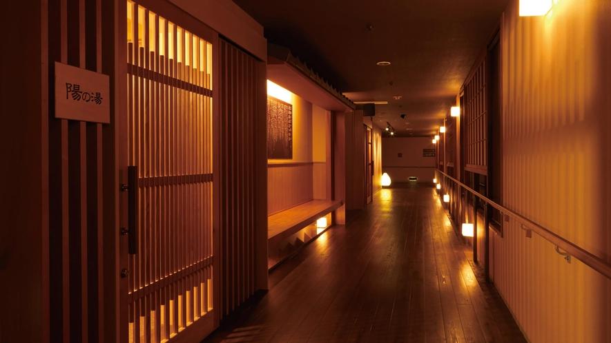桜館 廊下