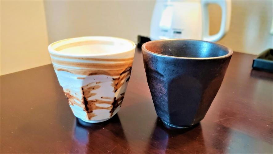 陶器コップ