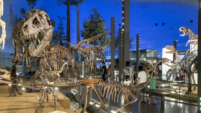 ◎【期間延長!】海の覇者「海竜」に会いに行く!恐竜博物館<特別展>チケット付プラン(朝食付)