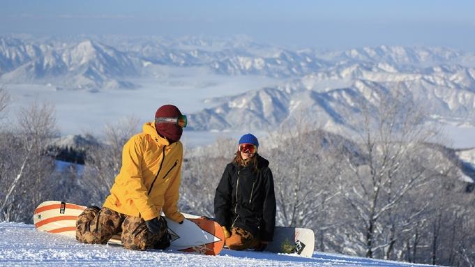 【年末年始スキープラン〇リフト1日券付】スキージャム勝山に永平寺もアクセス良好!<朝食付>