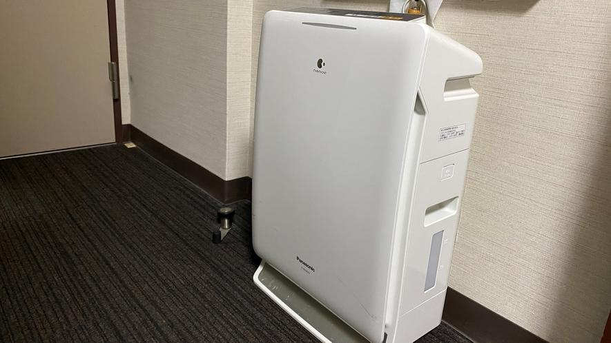 加湿空気清浄器