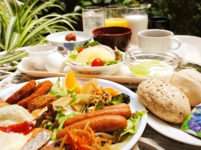 無料サービス☆お好きなものをお好きなだけ☆和洋のバイキング朝食☆