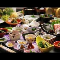◆【百彩百味】自家菜園の野菜がたっぷり♪見て楽しい食べて美味しい多皿のおもてなし膳02
