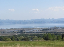 天鏡台から望む猪苗代湖
