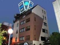 夜のホテルリブマックス梅田外観
