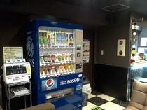 フロント自販機