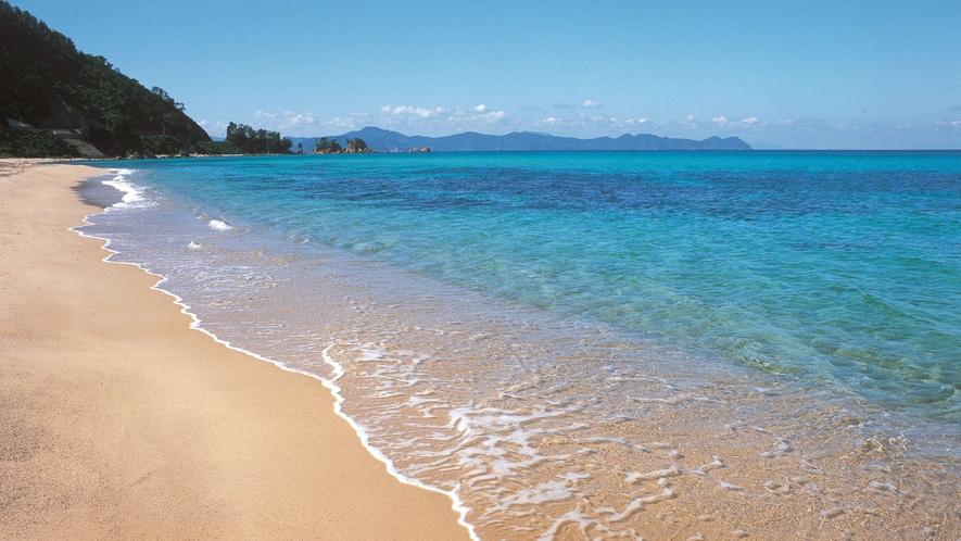 ■水晶浜海水浴場