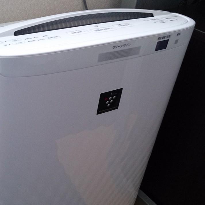 加湿器付空気清浄機