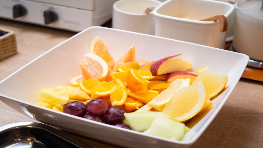 フルーツで健康的な一日を!!