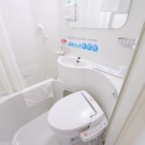 【ユニットバス】お部屋の水道水は全て健康イオン水です♪