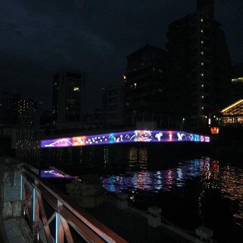 ◆水際公園 LEDライトアップ◆