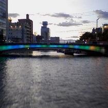 ◆新町川下 ひょうたん島無料遊覧船運行◆