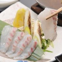 2020夏 夏の桶盛プラン 強肴:鯛しゃぶ鍋
