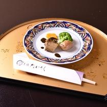 *お夕食一例(洋皿)