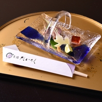 *お夕食一例(焼き物)