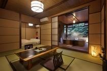 特別室 きづなすいーと 露天風呂 客室