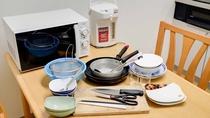 *別館館内(2階台所・自炊スペース)/調理器具