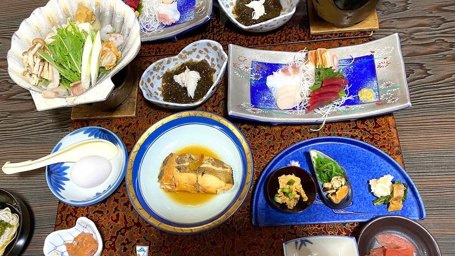 ・人気の味噌貝焼き定食プラン