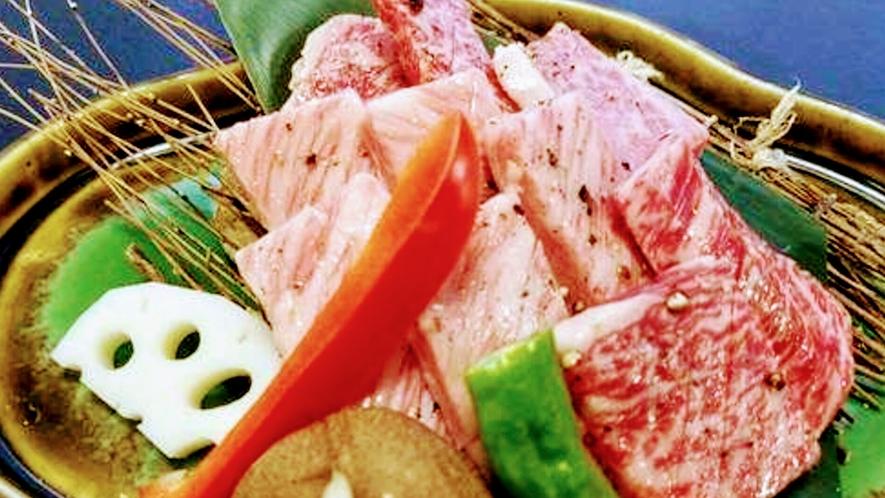松阪牛陶板焼き(約100g)要予約