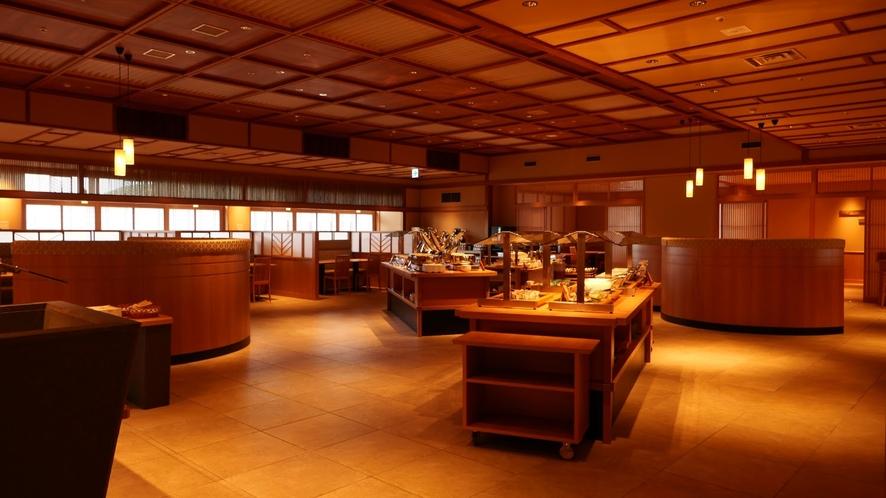 鳥羽湾をイメージしたビュッフェレストラン「雅」